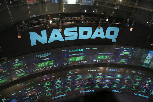 Nasdaq Marketsite at the Time Suqare