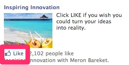 Facebook Engagement Ads - Like without leaving the page