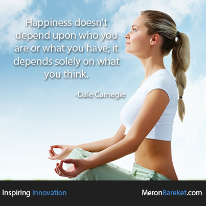 Happiness Depends On What You Think