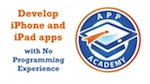 Develop iPhone and iPad apps with no programming experience