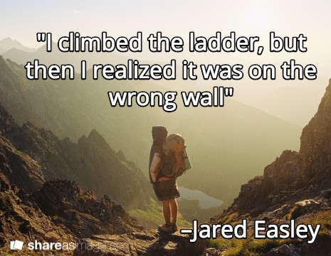 Quote of Jared Easley, host of Starve the doubts and co-founder of Podcast Movement