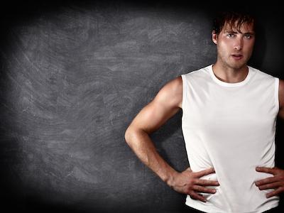 Man fitness model